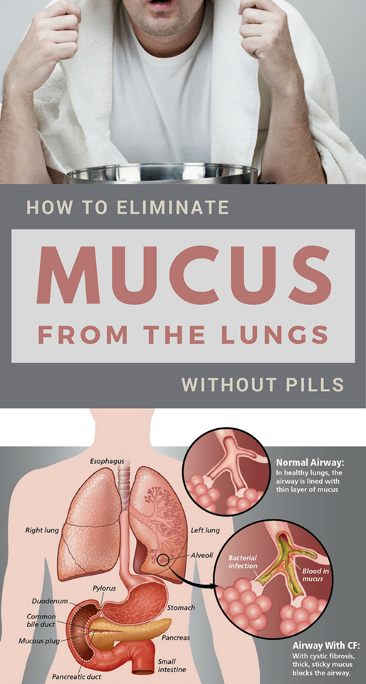 how to get rid of muscus in lungs