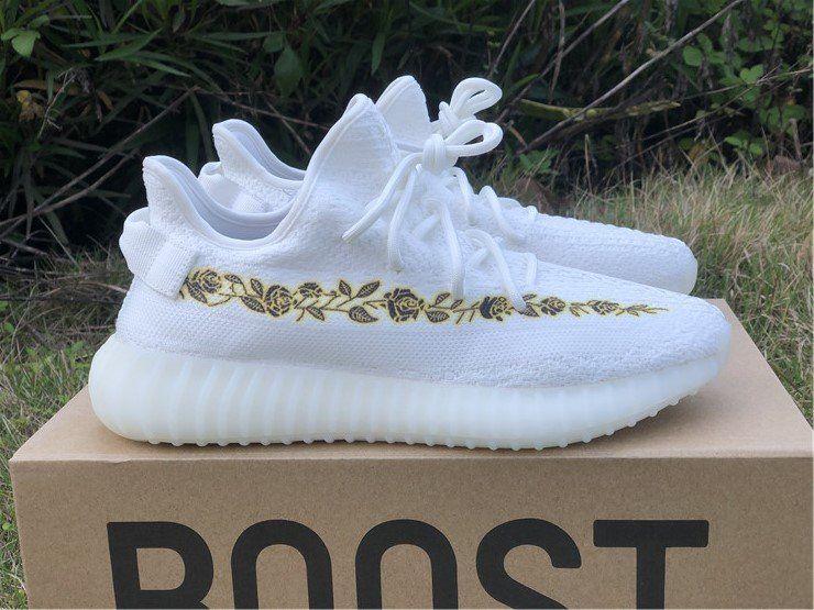 Custom adidas Yeezy Boost 350 V2 Cream