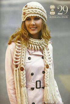 Кому идеи шапок, снудов, шарфов? Налетай! / Вязание спицами / Вязание для женщин спицами. Схемы