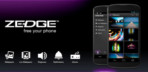 ZEDGE™ Ringtones & Wallpapers app Zedge is a popular