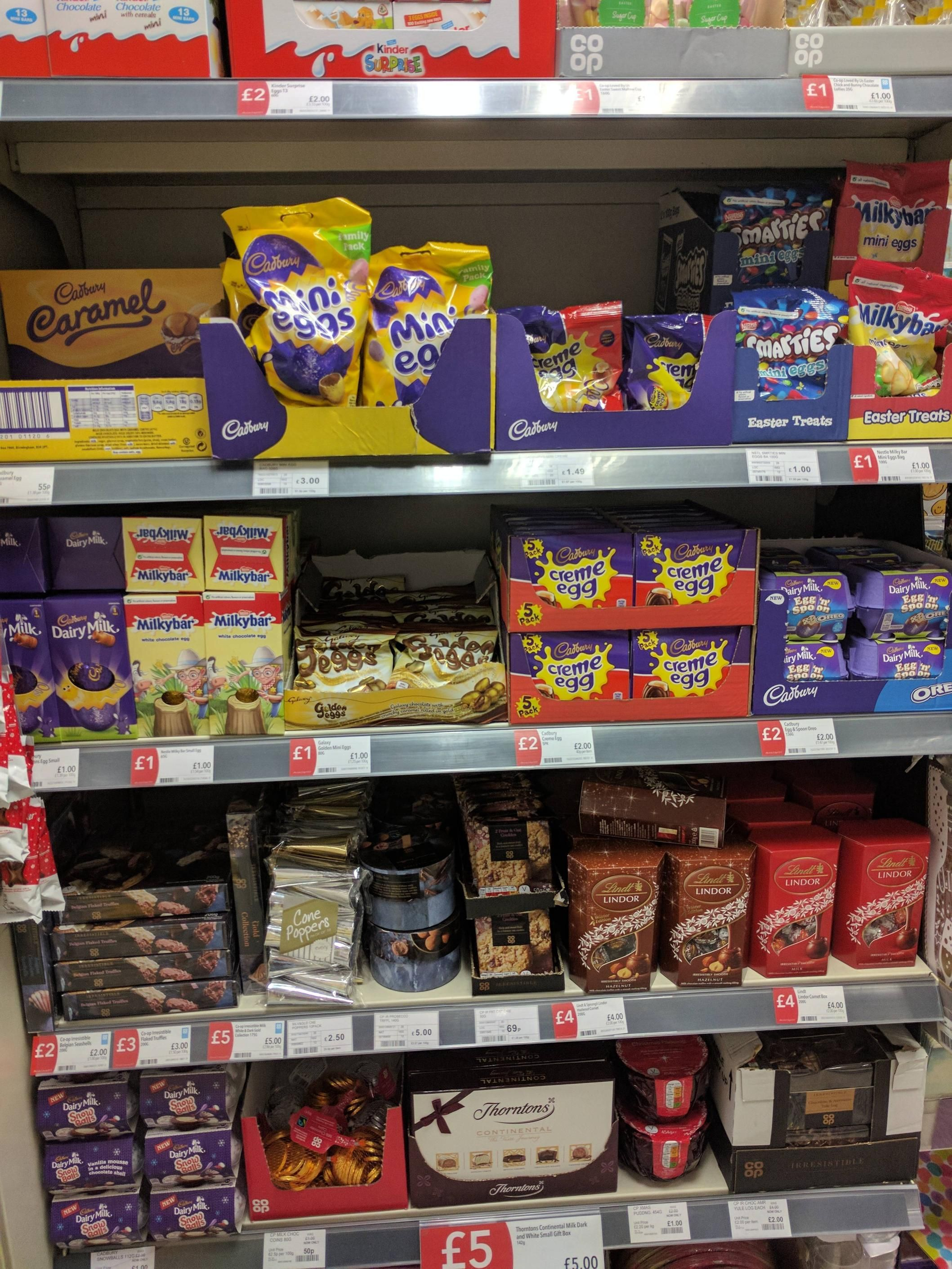 Co op celebrating boxing day...