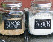 chalk board labels