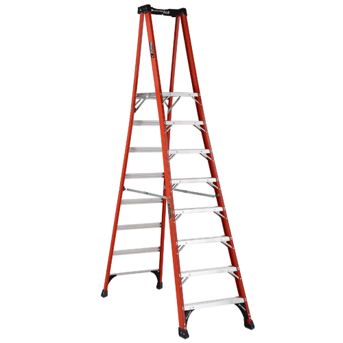 Louisville Ladder Fxp1808hd Fiberglass Step Platform Pinnacle Ladder 8 In 2020 Platform Ladder Ladder Fiberglass