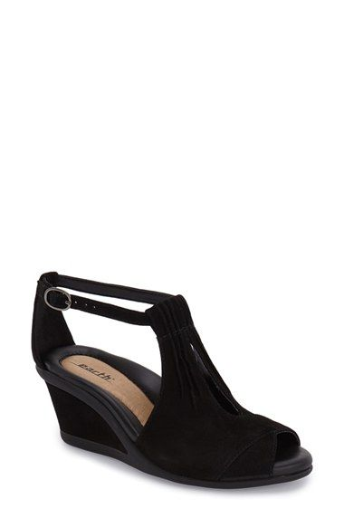 014191ac0c39 Earth®  Caper  T-Strap Wedge Sandal (Women) available at  Nordstrom ...