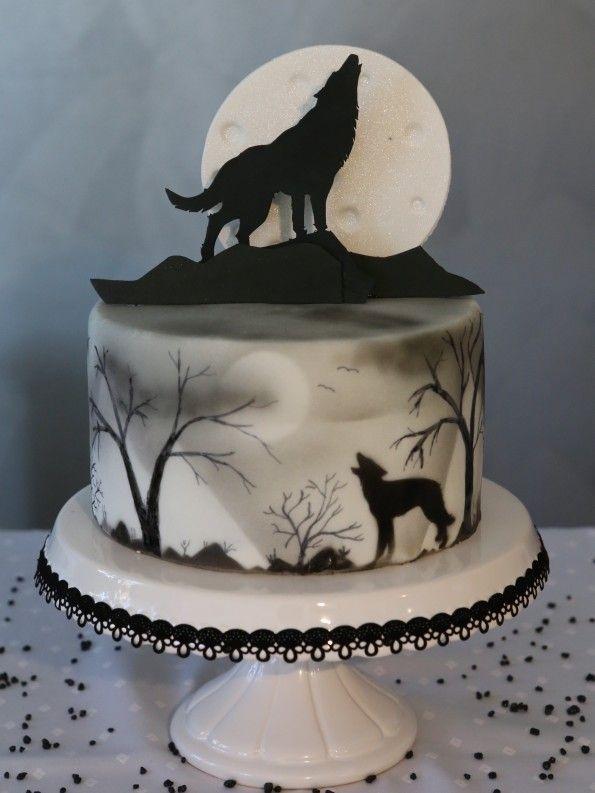 Halloween Cake Wolf Torte | Rezepte und Getränke | Pinterest ...