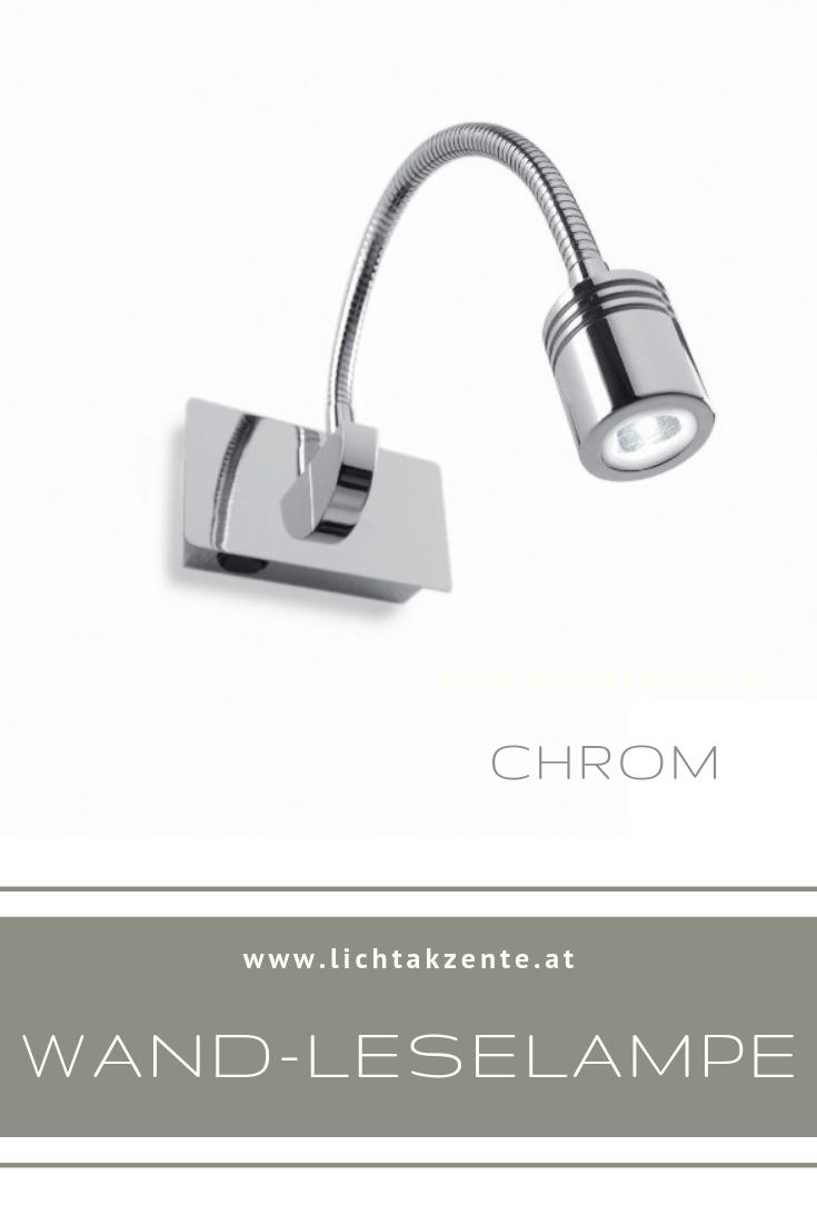 Ideal Lux LED Leselampe Dynamo Chrom | Lampe, Moderne