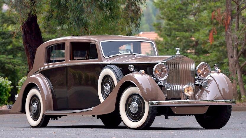 1937 Rolls-Royce Phantom III Mulliner Sport Saloon
