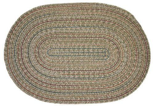Duet Braided Rugs Moss 2x4 Oval Braided Rug By Rhody Rugs 44 99 2x4 Oval Braided Rug 75 Wool 25 Polypropylene Round Braided Rug Oval Braided Rugs Rugs