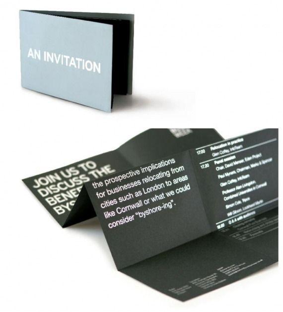 Cornwall Pure Business Invitation Business Invitation Web Design Branding Design