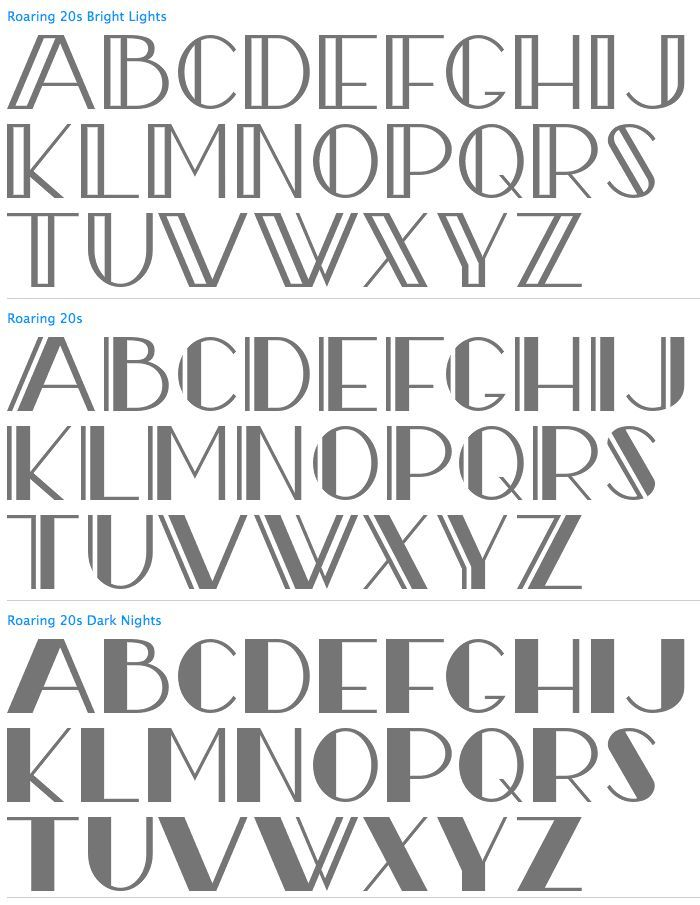 Image result for art deco hand lettering