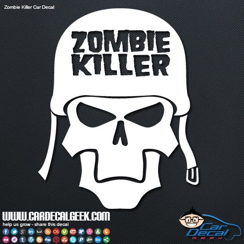 Http www cardecalgeek com product zombie killer