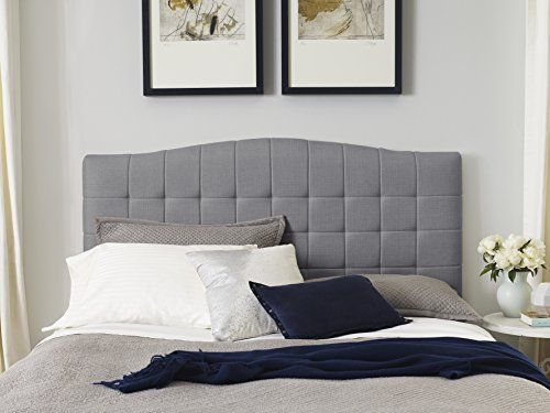 Serta Luna King Headboard in Ash Gray, King/California King | home ...