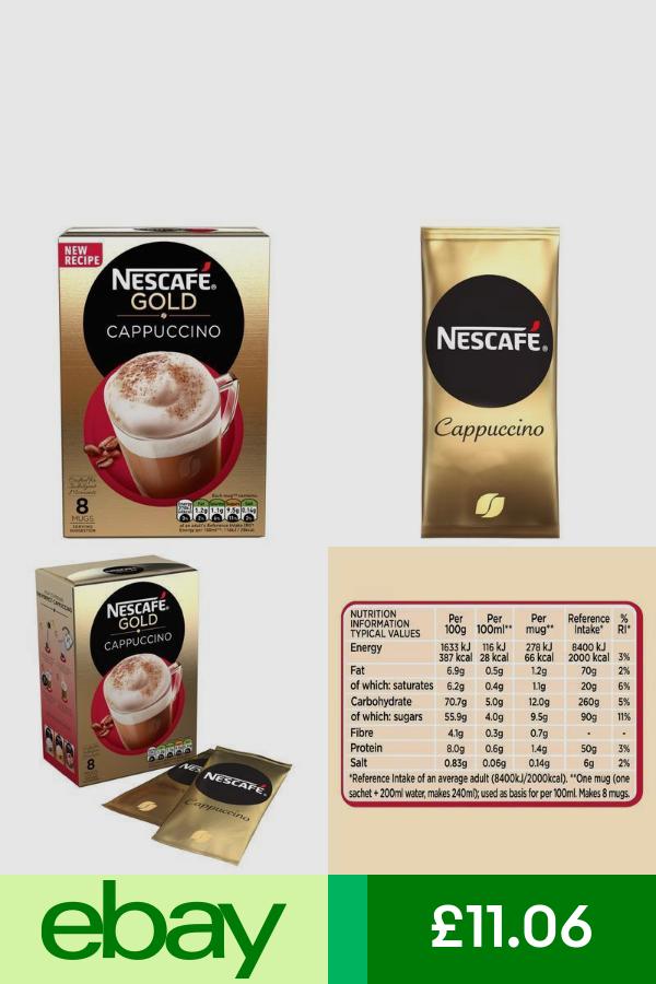 NESCAFÉ Coffee Beans, Grounds & Pods Home, Furniture & DIY