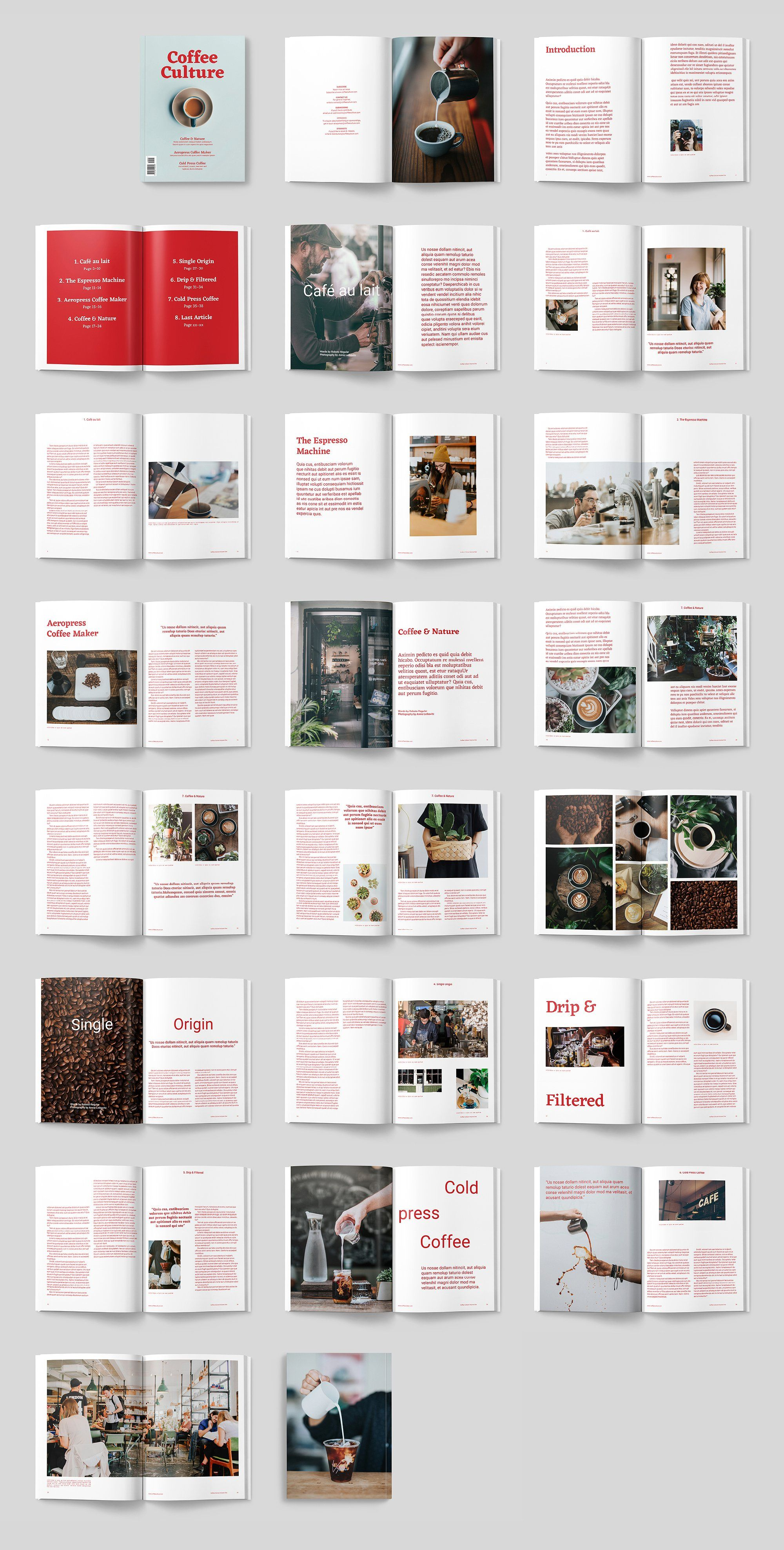 Coffee Culture Magazine By Thomasmakesstuff On Creativemarket