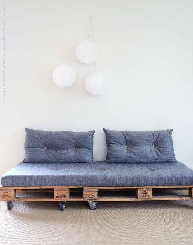 sofa cama | ideas creativas para muebles | Pinterest | Backyard ...