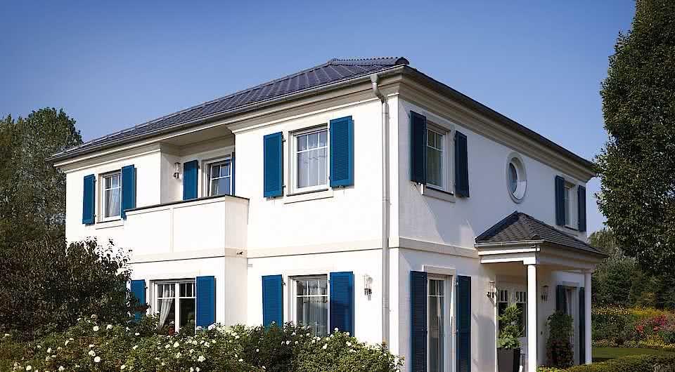 18+ Haus mit blauen fensterlaeden ideen