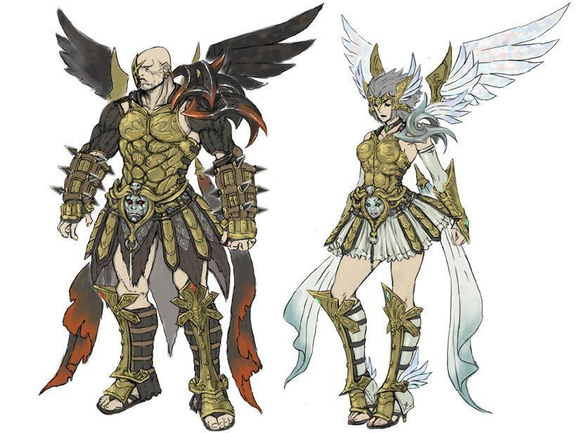 White Knight Chronicles II Jupiter and Minerva sets ...