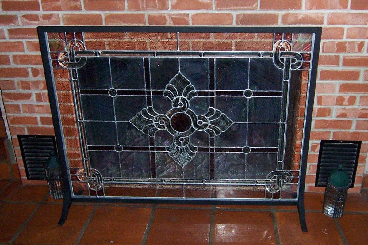 Glass Panel Fireplace Screen Kahawa Interiors Pinterest