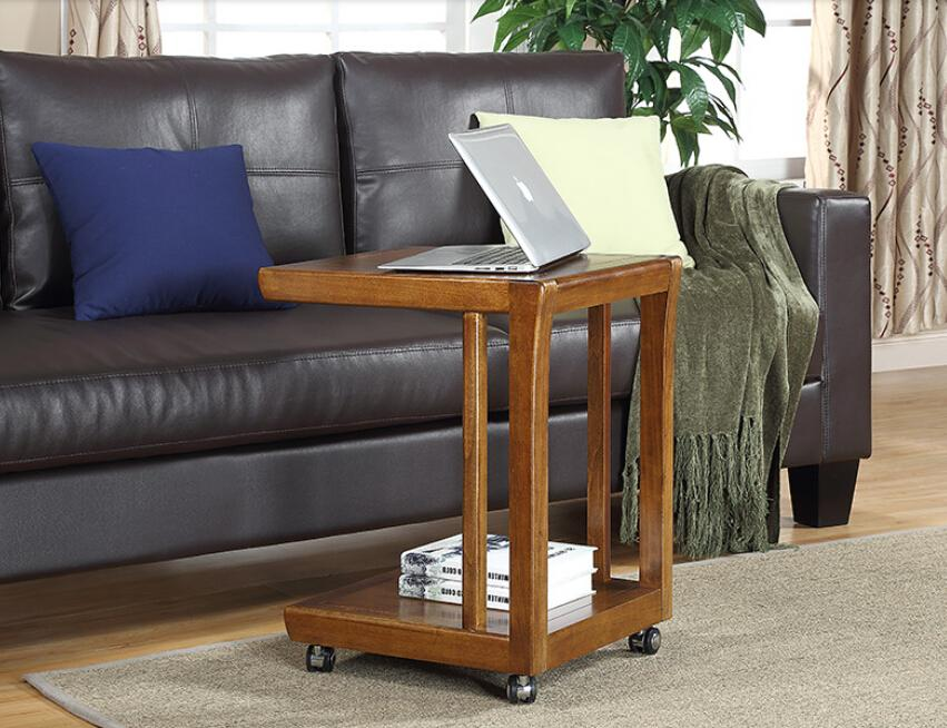 Completely Real Wood Bed A Few Beautiful Type Sofa Side Table Portable Computer Desk Phone Table Small Tea Table Lit Bois Petites Tables Et Lit