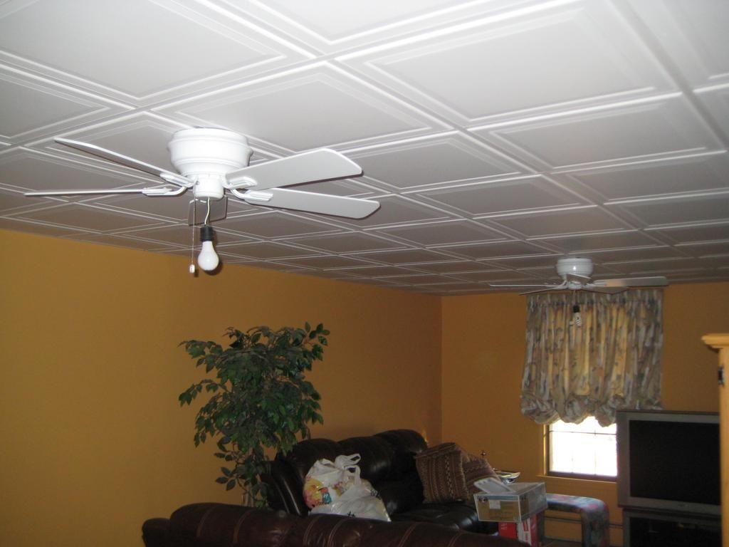 Dropped Ceiling Tiles Basement Httpcreativechairsandtables