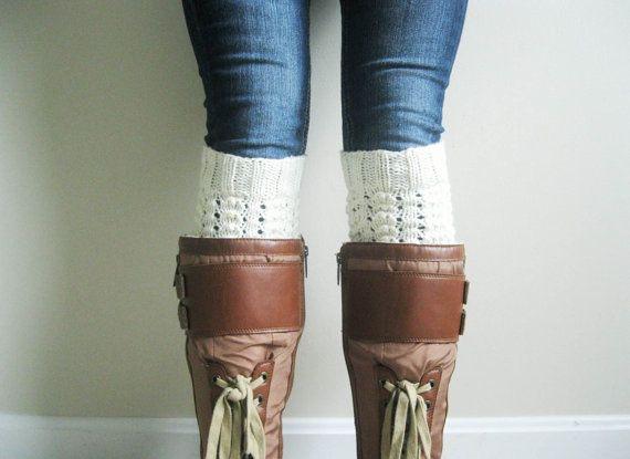 Knitting Pattern Pdf File Boot Cuff Knitting Pattern Leg Warmer