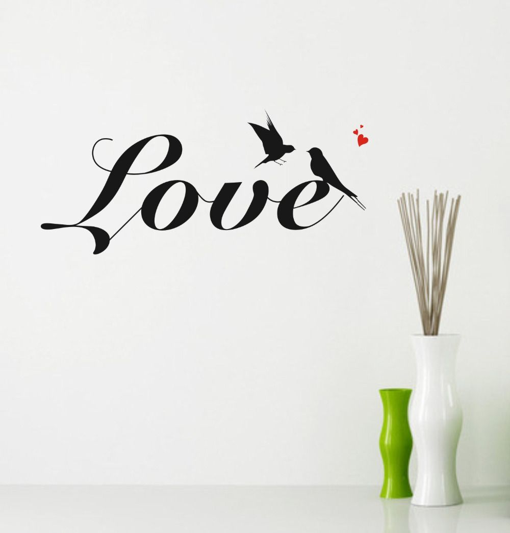 Aliexpresscom Buy Wall Quotes Swallow Love Wall Decals Free - Vinyl stickers designaliexpresscombuy eyes new design vinyl wall stickers eye wall