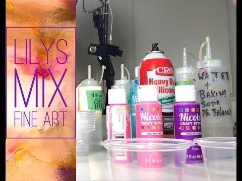 Diy Pouring Medium Lots Of Cells Cheap Paint Flip Cup