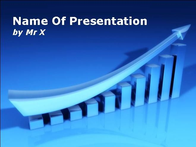 Free powerpoint templategraphical chart business growth dark free powerpoint templategraphical chart business growth dark versionfor performance management presentation toneelgroepblik Image collections