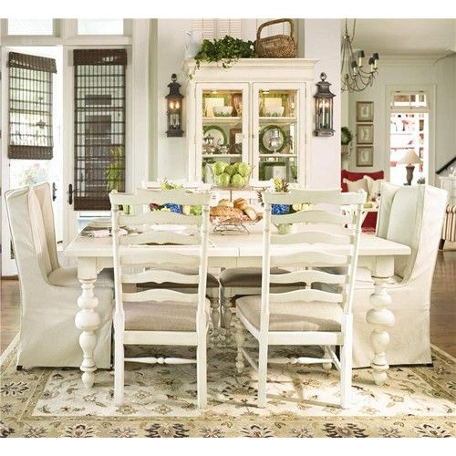 Patio Furniture Repair Woodland Hills Ca: Paula Deen Dining Table, Side Chairs
