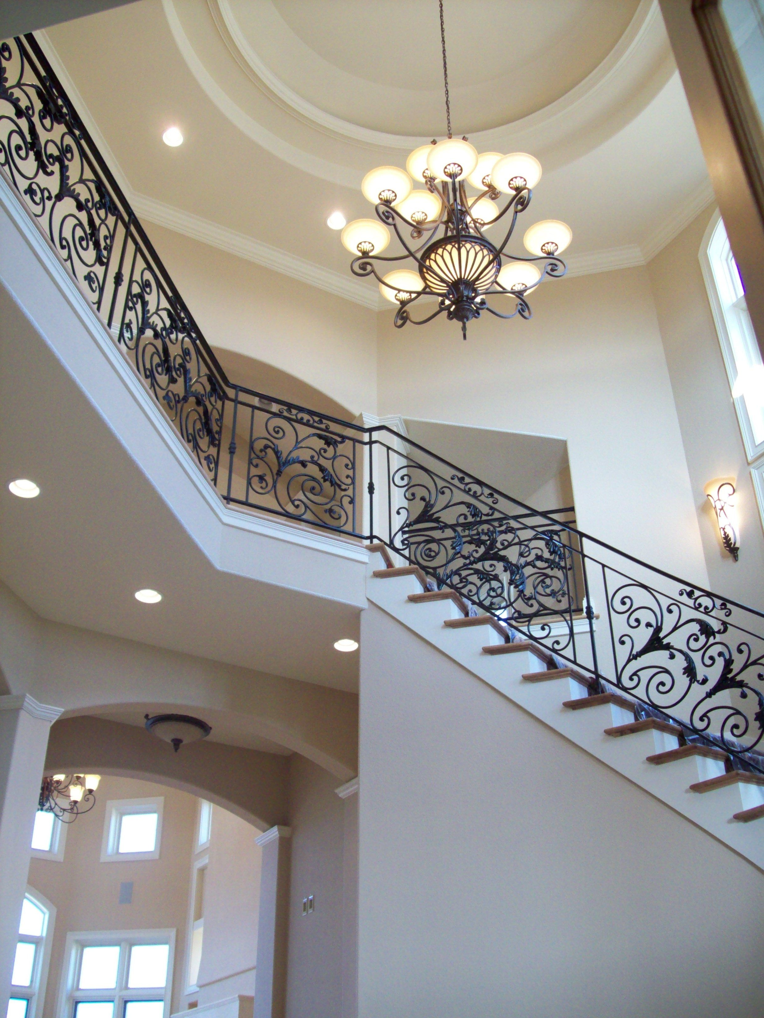 Best Foyer Withh Trey Ceiling Detail And Grand Staircase For 400 x 300