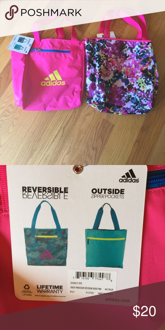 6156e47ee567 Adidas Studio II tote bag Photo shows both sides. Post is for 1 tote.