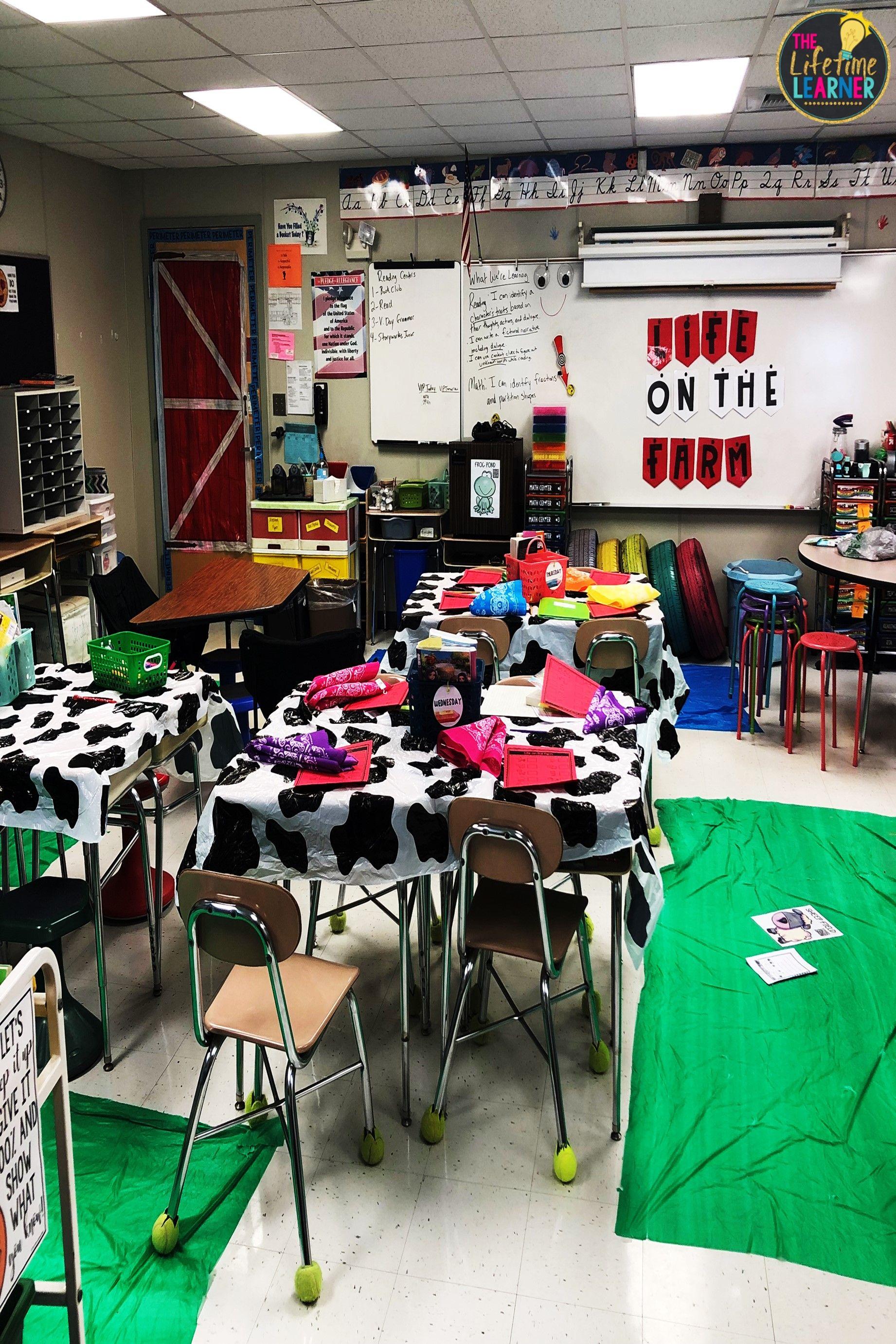 3rd Grade Farmer Classroom Transformation