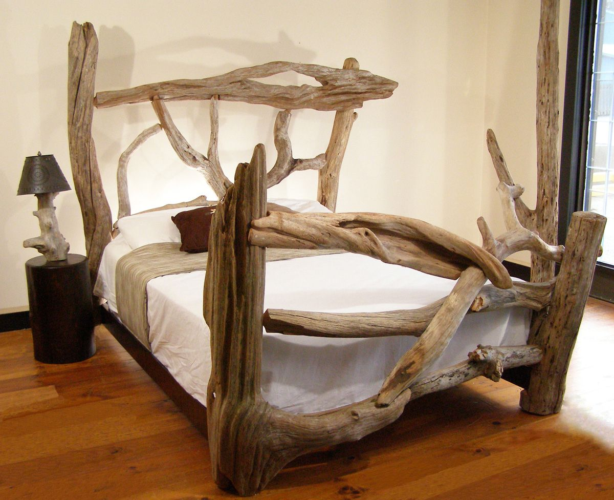 Beautiful Driftwood Furniture   For My Beach House