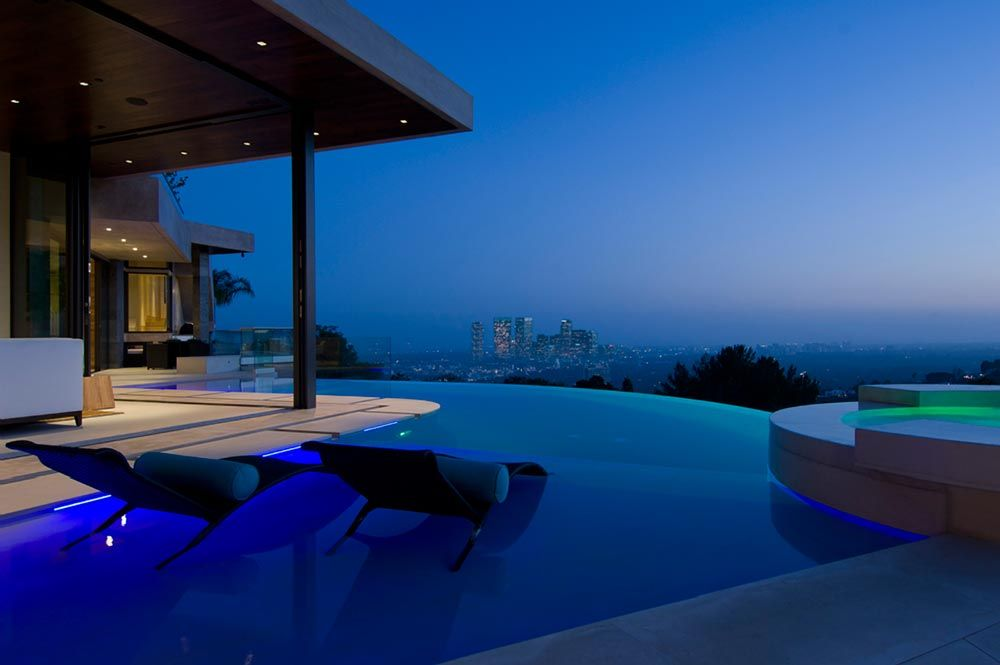 Blue Jay Residence Interior By Lori Dennis Homedsgn Bill Gates S House Architecture Pool
