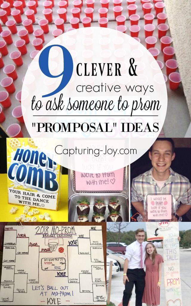 how to ask your crush to prom