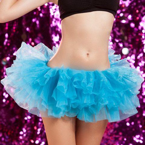 Sexy Fluffy Electric Daisy Carnival Go Go Tutu