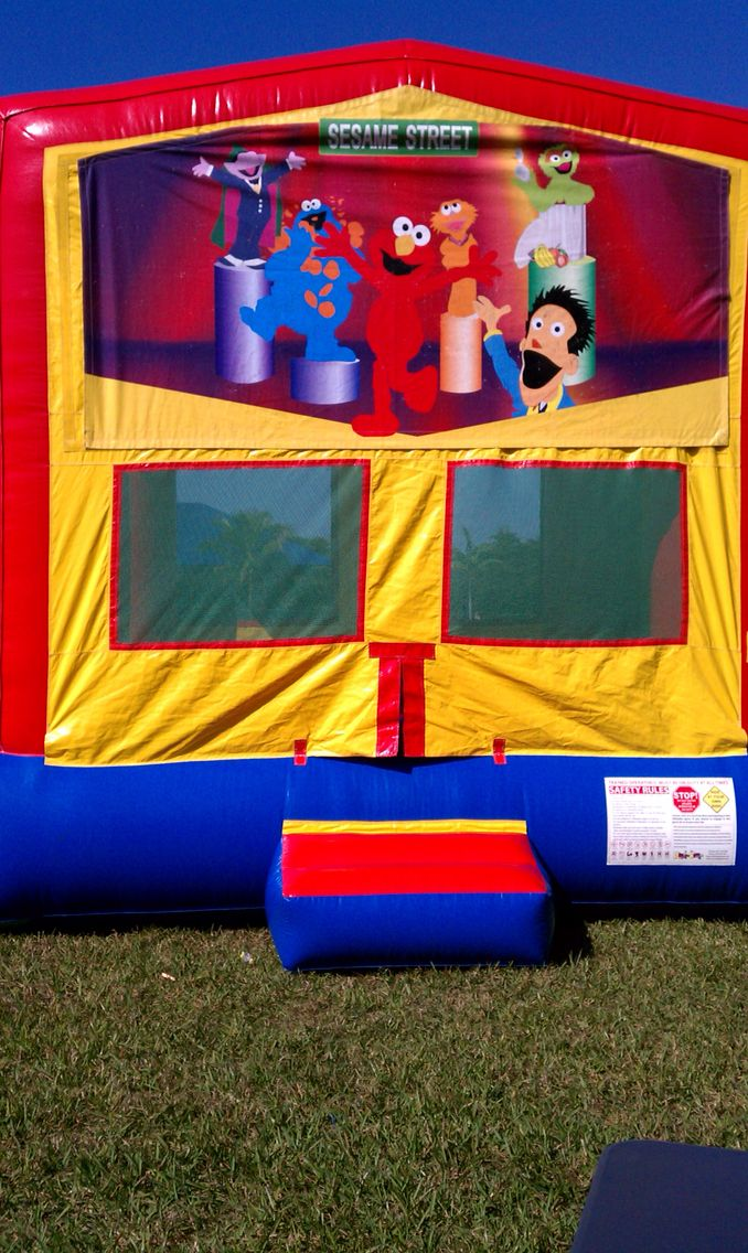Elmo and Friends Standard Bounce House