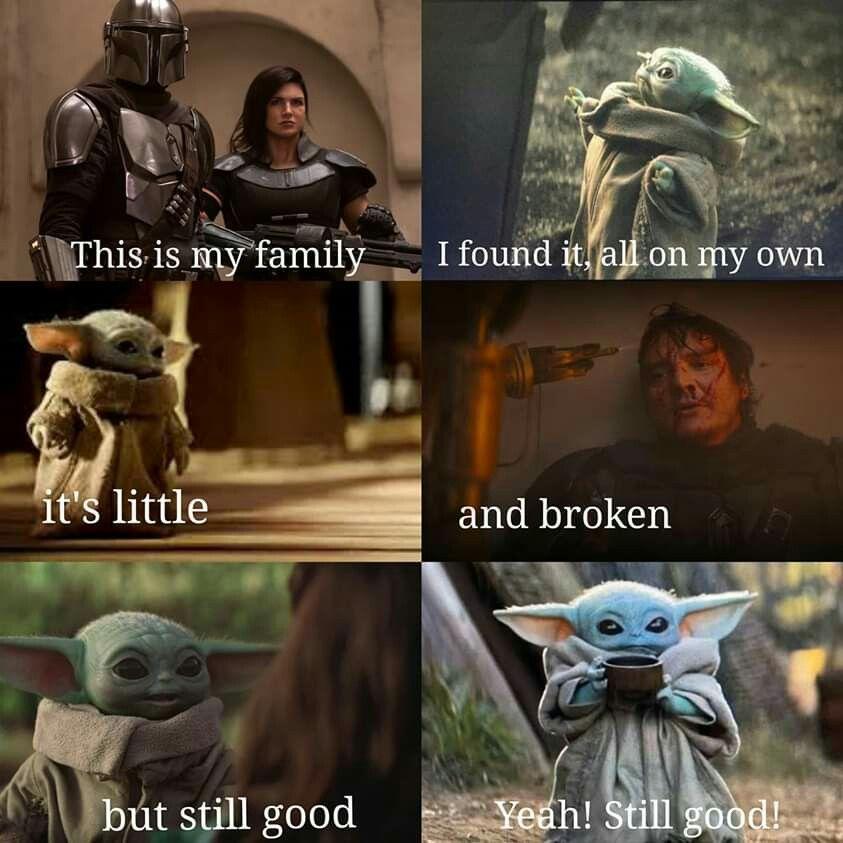 Pin By Samara Barbosa Gomes De Olivei On Baby Yoda Star Wars Memes Star Wars Fandom Star Wars Geek