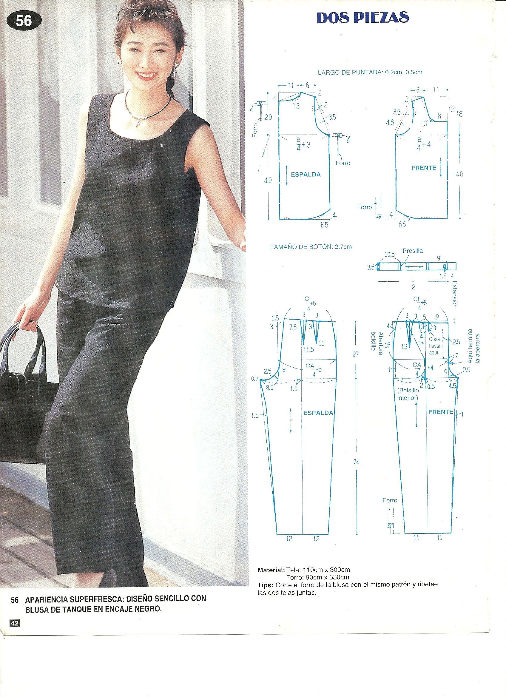 Pin de MI KYUNG AHN en 패턴 | Pinterest | Patrones, Costura y El ...