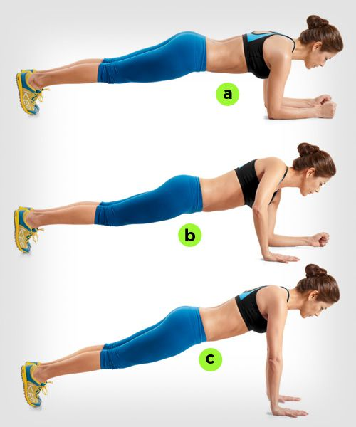 Challenge yourself this plank variation excerise can make for Floor workout