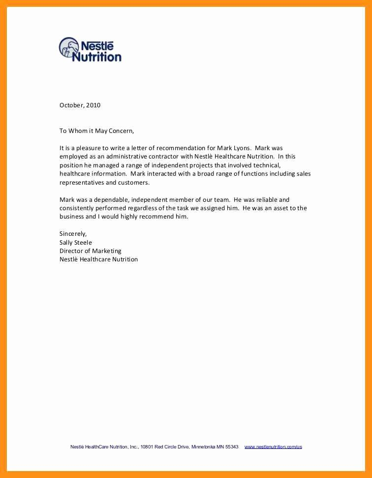 Letter Of Recommendation For Independent Contractor from i.pinimg.com