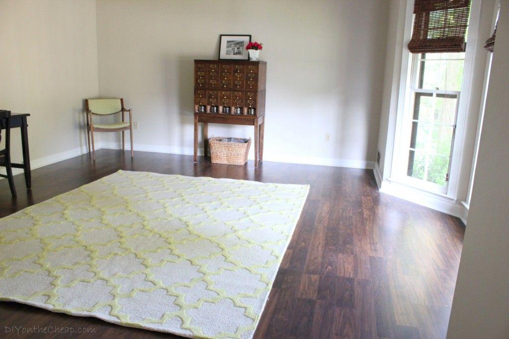 Living Room Progress + New Rug From Rugs USA (Tuscan Terali Moroccan  Trellis In Sunshine