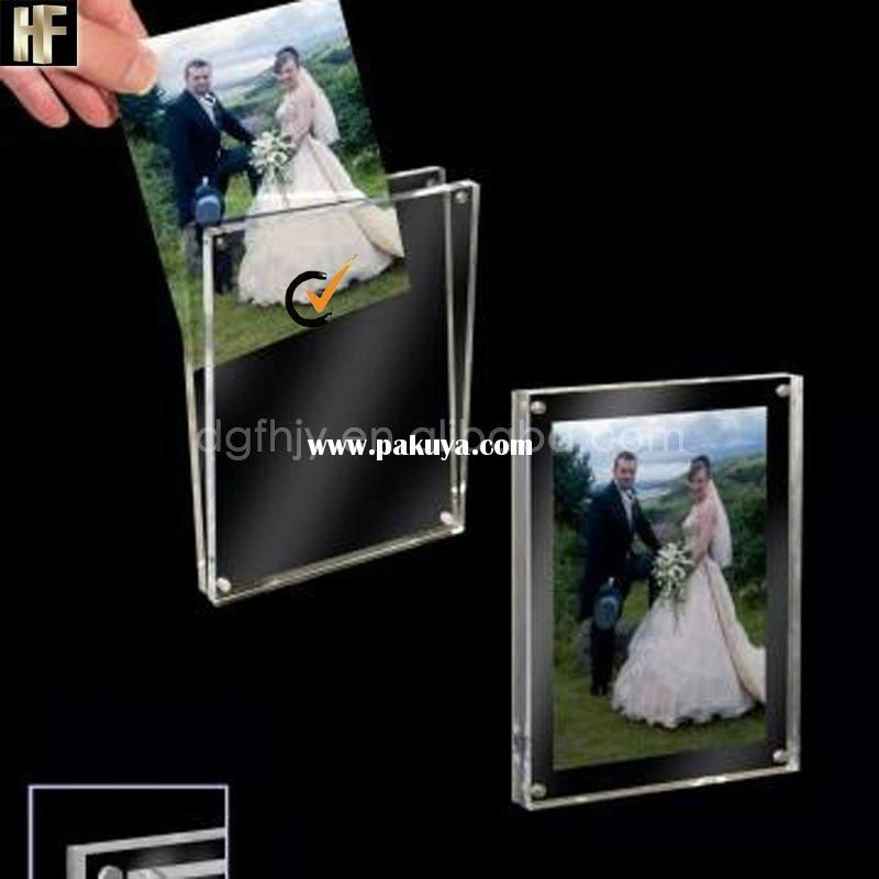 Double sided acrylic photo frame with magnets | Gadget | Pinterest ...