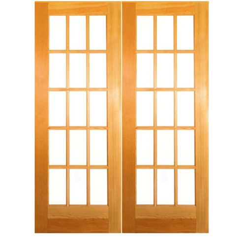 Doors between the living room and den lowes zoomed - Lowes double french doors interior ...