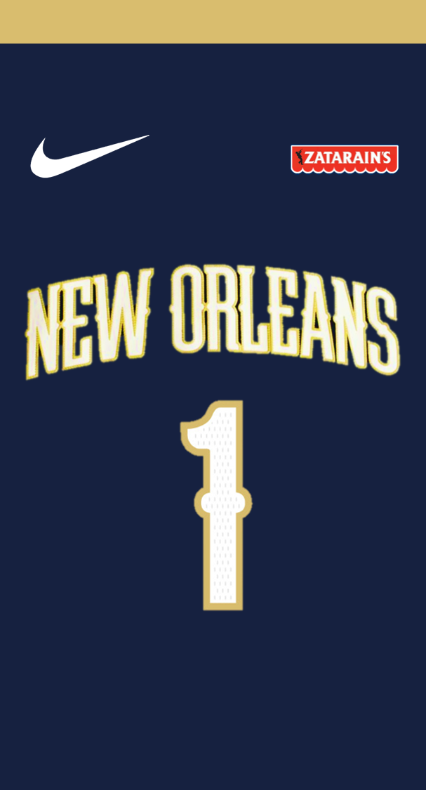 Zion Williamson Jersey Wallpaper New Orleans Pelicans Nba Wallpapers Wallpaper