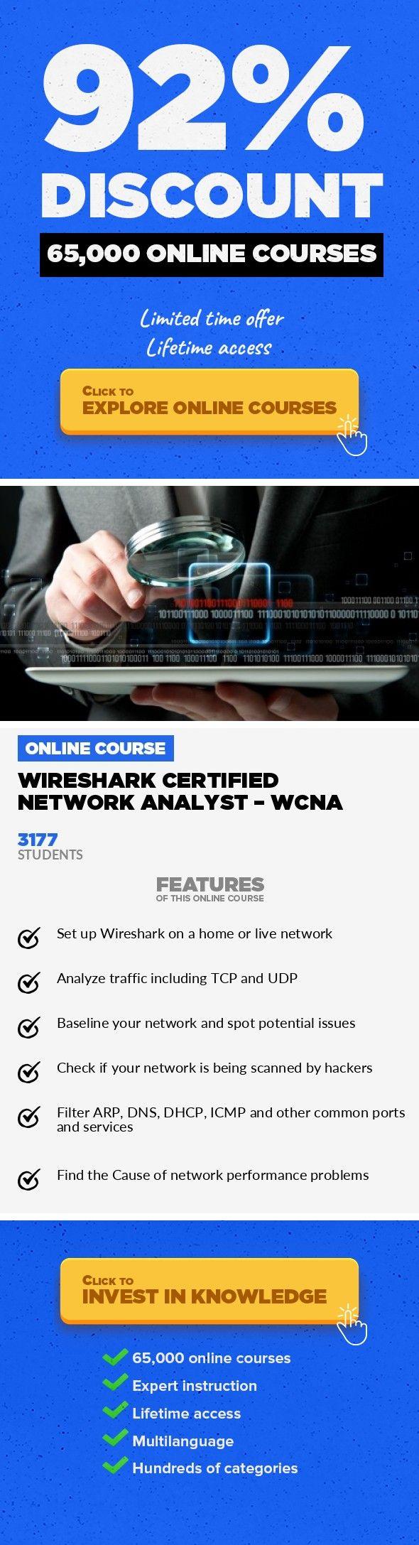 Wireshark Certified Network Analyst Wcna It Certification It