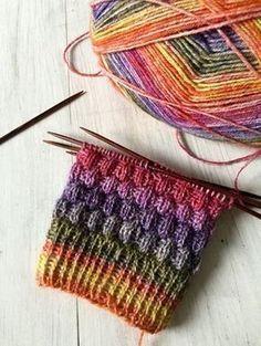 Photo of Socken Strickmuster – #Socken #socks #Strickmuster