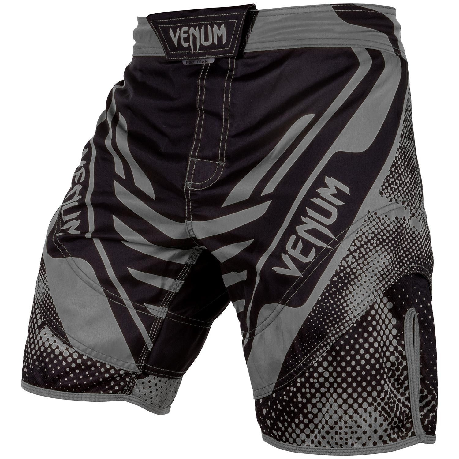 MMA VONUM Santa Muerte MMA Technical Fight Shorts Gray Men Muay Thai Boxing