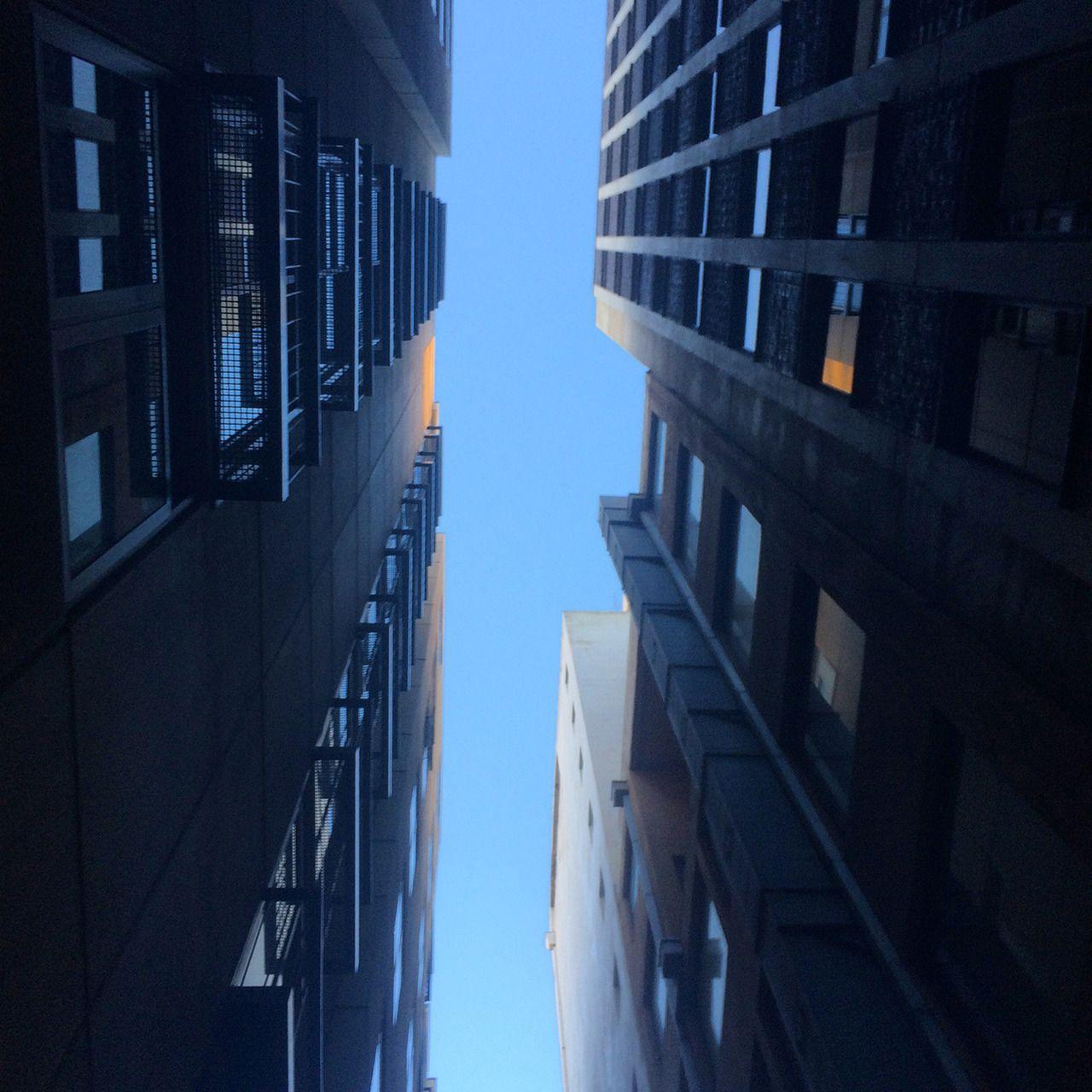 A summer sky in Melbourne. melbournelaneways hotel