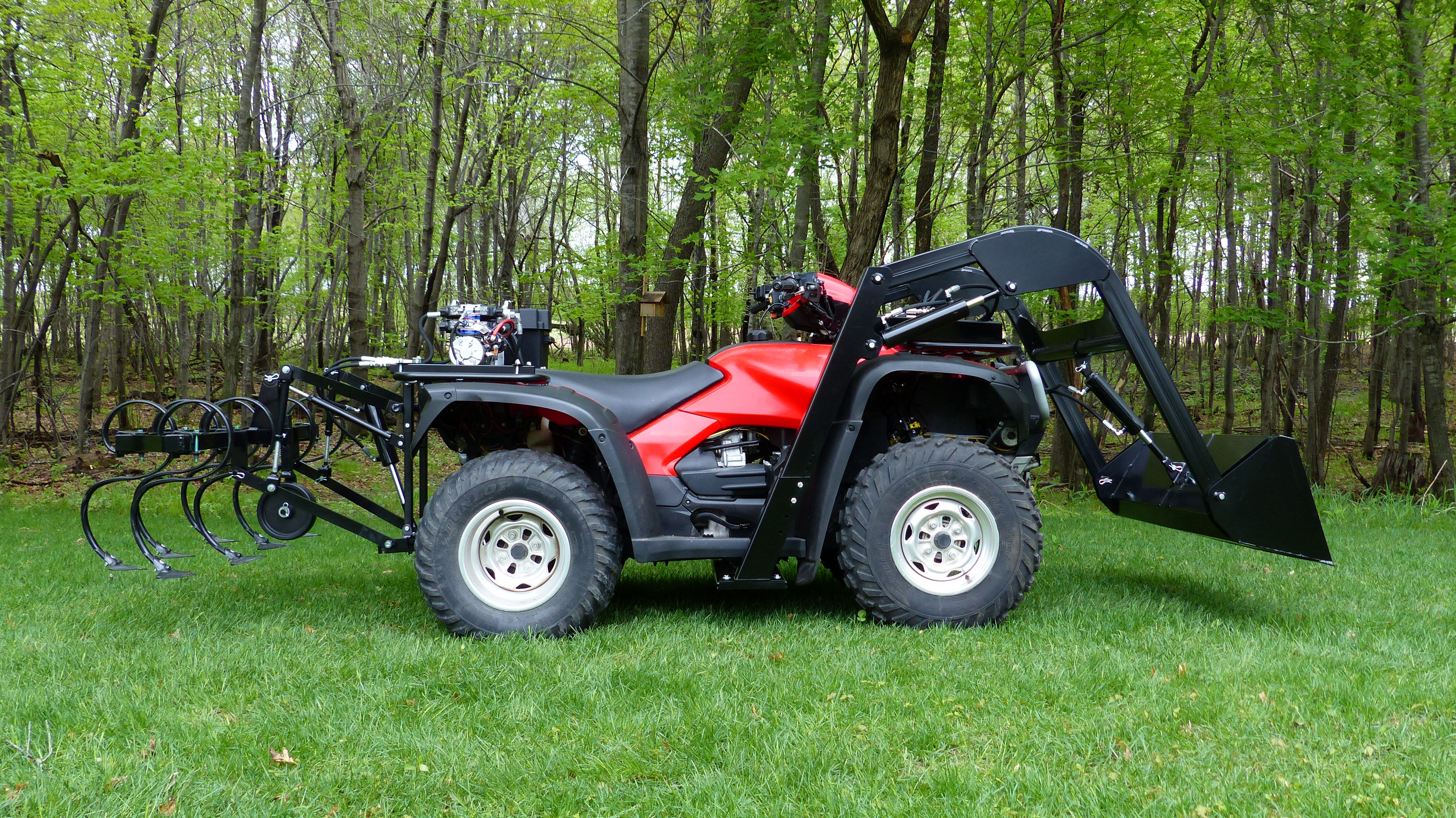 Wild Hare Atv Loader And Four Wheeler Attachments Great